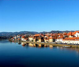 Cycling from the City Maribor